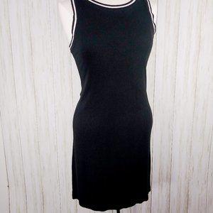 Mossimo Black Ribbed Tank Dress S